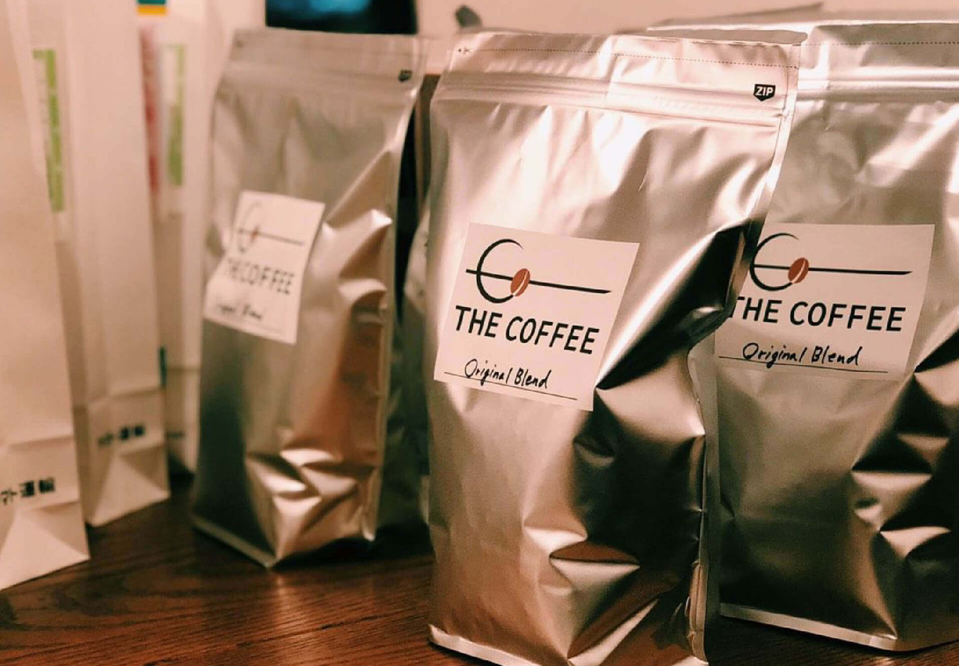 THE COFFEE Kisarazu(ザ コーヒー木更津)のCOFFEE BEANS & BOTTLE