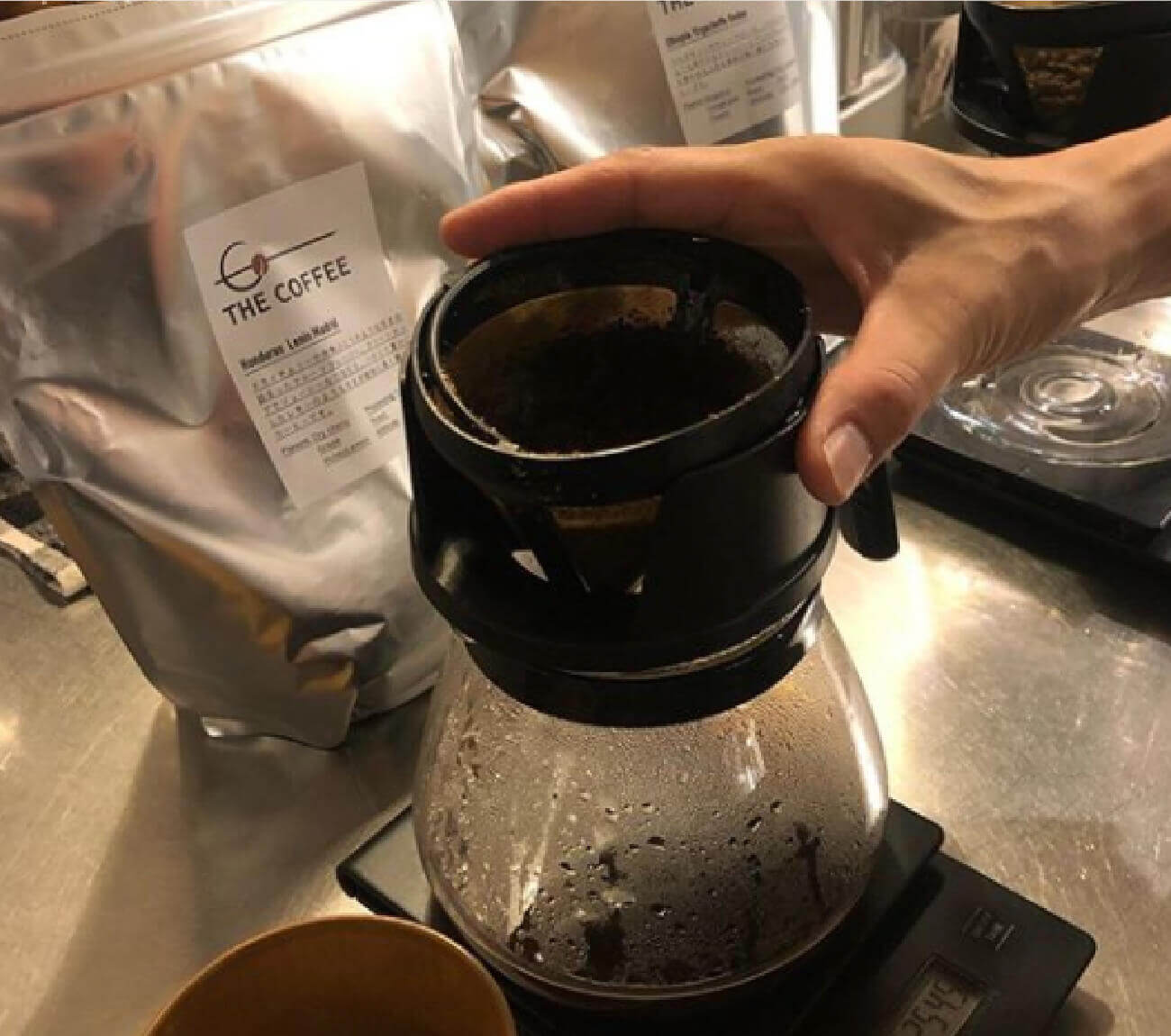 THE COFFEE Kisarazu(ザ コーヒー木更津)のバリスタ