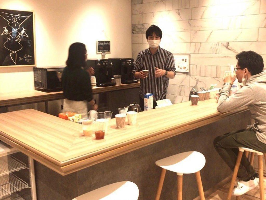 どのようなコーヒーが社員の皆様の希望なのか、どういうシーンで飲むのかそのヒアリングからのスタート。