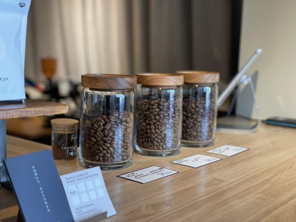 THE COFFEEのコーヒー豆について