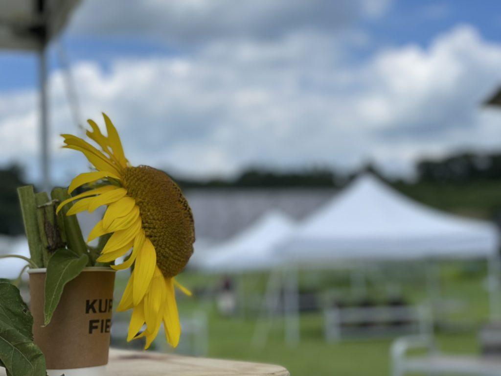 THE COFFEEは、Kurkku Fieldsに定期的に出店しています