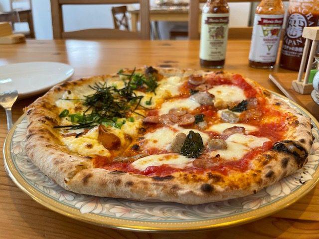 窯蔵さん<木更津市羽鳥野にあるピザとジェラートのお店>でもTHE COFFEEが楽しめます